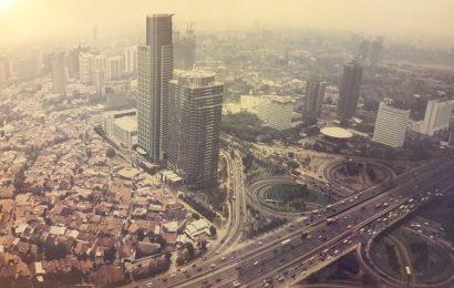 Pemandangan Fly Over Semanggi dan Jakarta Tempo Dulu