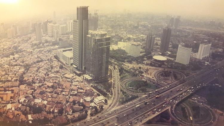 Pemandangan Fly Over Semanggi Dan Jakarta Tempo Dulu Dadang Kurnia