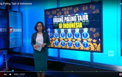 10 Orang Paling Tajir di Indonesia dilansir dari CNN