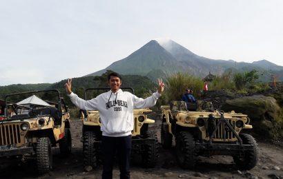 jeep touring di Lereng Merapi