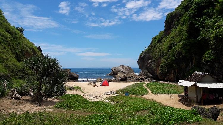Pantai Wohkudu, warna lain dari Wonosari