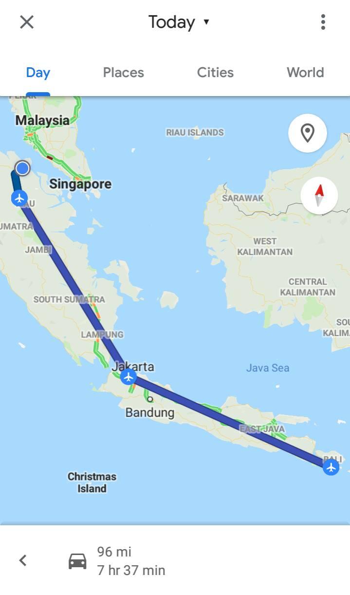 Petualangan Panjang Jakarta – Bali – Dumai